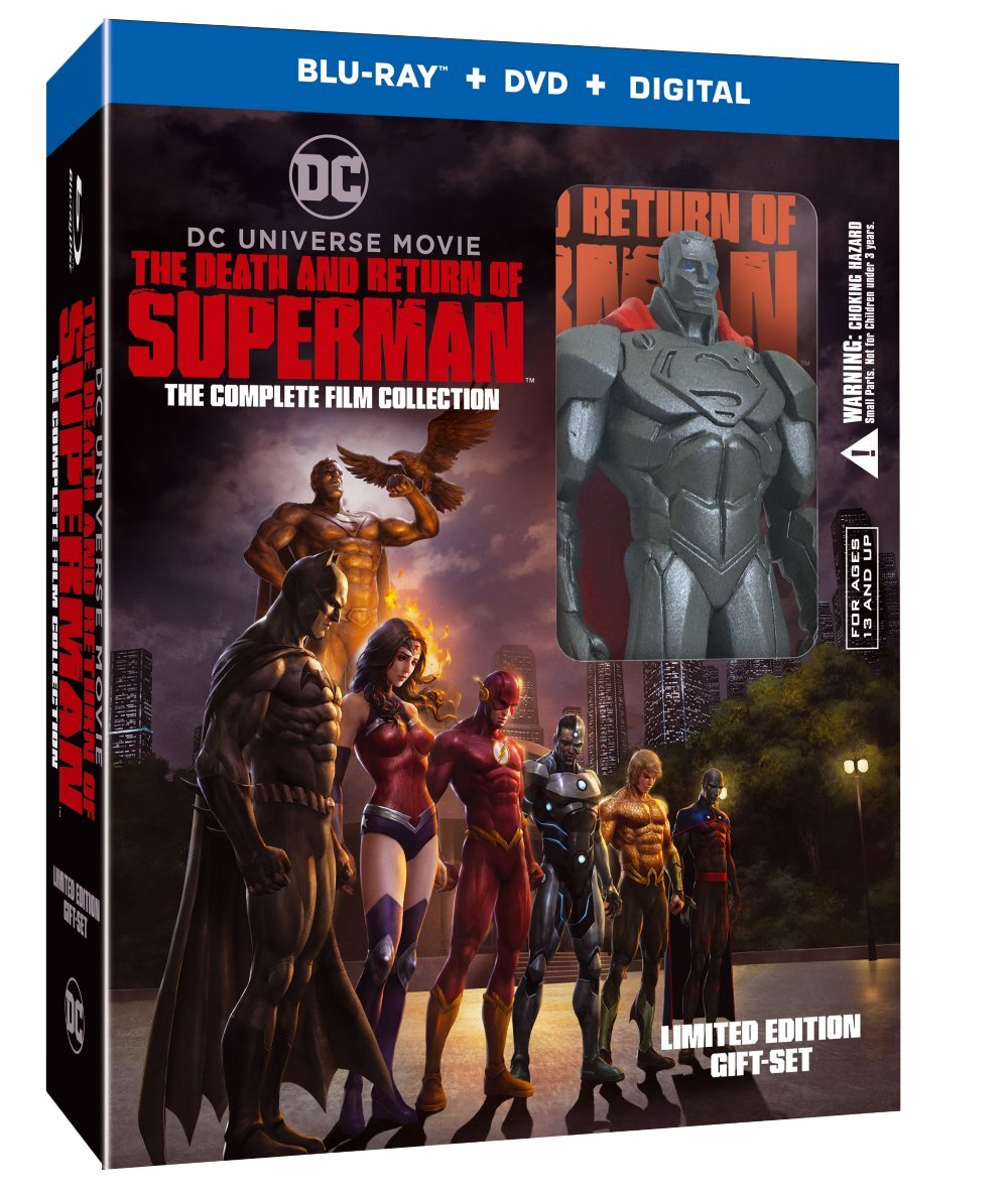 he Death and Return of Superman Complete Film Collection